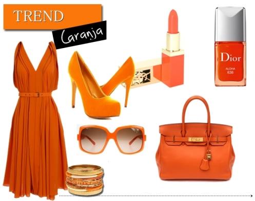 laranja na moda