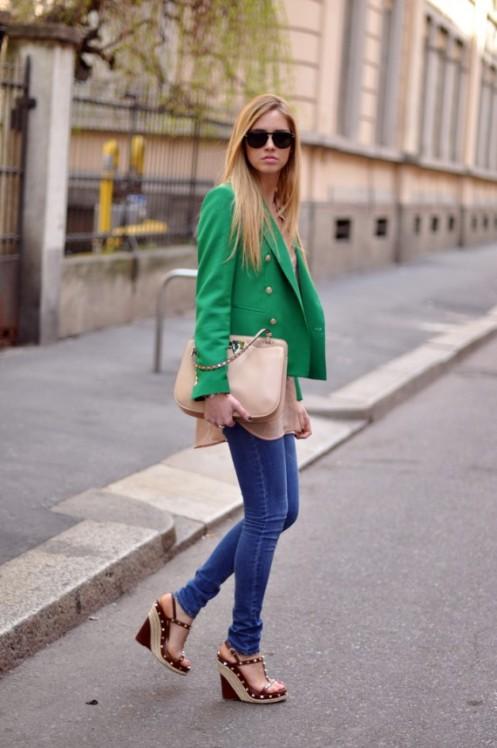 Blaser verde