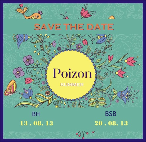 Save the date Poizon